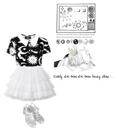 """""""Dreaming about the things that we could be"""" by xoxkenzie ❤ liked on Polyvore featuring Topshop"""