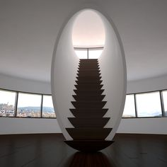 Stair in a tube