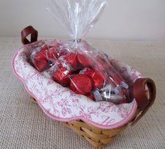 Valentine Gift Breast Cancer Awareness by RiverStonesFiberArts