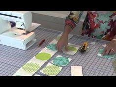 Quiltologie 3 | Pieced Borders - SEA BREEZE QUILT LESSON - YouTube