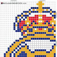 hama beads real madrid 1