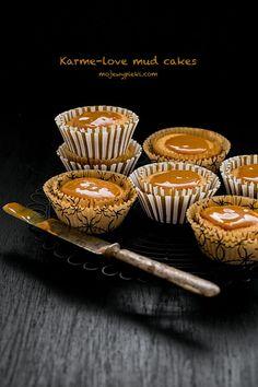 Karmelowe mud cakes