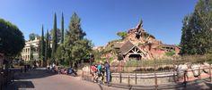 Your morning Haunted Mansion Splash Mountain panoramic shot