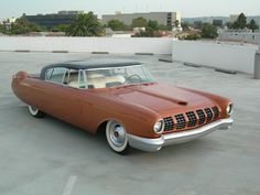 1955 Mercury D528 Beldone concept