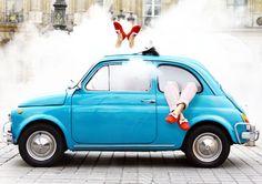 Bobbies Spring-Summer 2012 Campaign #mocassin #Paris #loafers #colours #summershoes