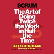 """By the man who helped invent the red-hot management process known as """"Scrum"""", Scrum unveils what is wrong with the way we currently do work, and how a simple set of principles, applied in exactly the right sequence, can accelerate productivity and quality as much as 1200 percent. Scrum (which gets its name from the formation in rugby in which the whole team locks its arms to gain control of the ball) is the reason that Amazon can launch a new feature on its website every day."""