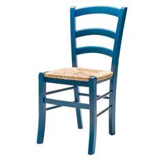 Sedia sedie rustica paesana legno naturale casa cucina sala e ...