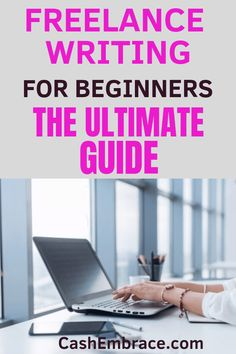 Freelance writing tips for beginners: how to make money online from your writing skills. The ultimate guide to learn how to get paid to write. Make Money Writing, Make Money Blogging, Way To Make Money, Make Money Online, Home Based Work, Work From Home Jobs, Online Income, Online Jobs, Writing Skills