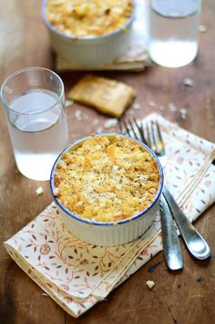 Baked mac and cheese...my ultimate comfort food.