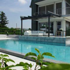 piscine carré béton de rêve