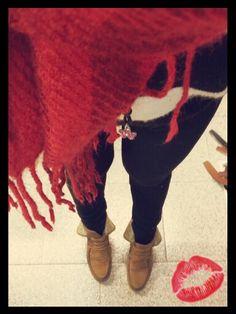 Black#white#red #calzados el puerto