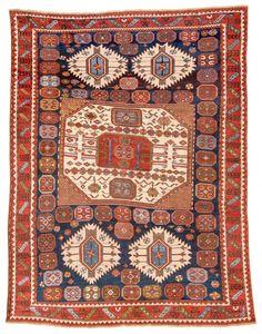 Karachoph Kazak Caucasus ca. 1880 8ft. 8in. x 6ft. 8in.