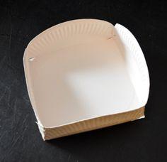 Körbchen aus einem Pappteller basteln Plates, Tableware, Fun, Madame, Biscotti, Kindergarten, Girls, Cookies, Corona