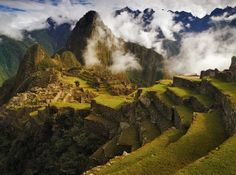 Storm clouds clear shortly after sunrise, revealing the dramatic splendor of the ancient ruins of the lost city of the Inca. Clearing Storm over Machu Picchu Machu Picchu, Nasa, Places To Travel, Places To See, Travel Destinations, Beautiful World, Beautiful Places, Beautiful Scenery, Amazing Places