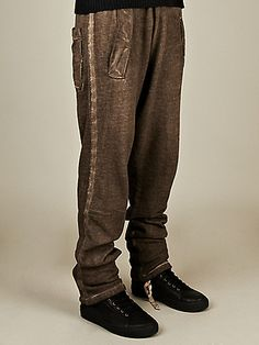 SILENT By Damir Doma Men's Piton Sweatpants in sand  $341