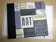 Club Scrap Creates - Handmade 12x12 Photo Album