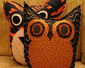 War Eagle Owl Pillow by makemorefriends;