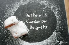 Buttermilk Cardamom Beignets inspired by Chef #foodnflix