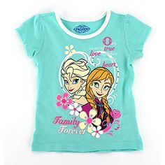 Frozen Elsa and Anna Girls Mint T-Shirt (2T) Disney http://www.amazon.com/dp/B00OY811IO/ref=cm_sw_r_pi_dp_Enrxub1S9JXM3