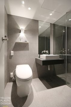 Home And Living, Bathroom Lighting, Toilet, Bath Room, Mirror, Interior, Furniture, Plastic, Design
