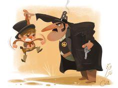Cale Atkinson: Ilustración. | Jizo