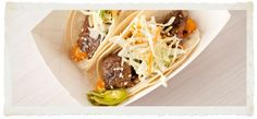 Marination Mobile - Seattle  Kalbi Beef Tacos - mmmmmmmmmm