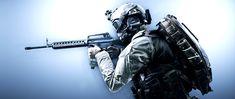Battlefield 4, Assault Rifle, Military, War, Tactical Shotgun, Military Man, Army