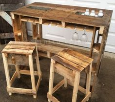 Enjoy with 25 Pallet Wood Projects | Pallet Furniture Plans