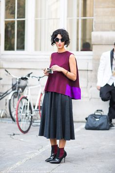 oh go on then. let's see that again. #YasminSewell being her fabulous self in Paris.