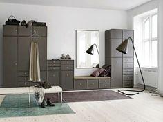 asymmetrical wardrobe + drawers + reading seat +