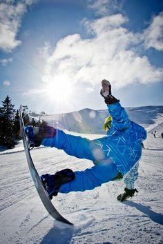 Snowboarding, Sports, Photography, Blue, Designer Inspiration, Bar Napkin Productions, bnp-llc.com