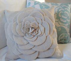 Pillow flower tutorial