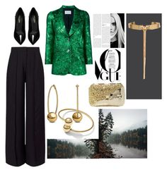 """""""Untitled #44"""" by marcy-marzipan on Polyvore featuring Gucci, Miss Selfridge, Yves Saint Laurent, Anndra Neen, David Yurman and Eddie Borgo"""