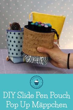 Diy Sewing Projects, Sewing Hacks, Sewing Tutorials, Sewing Crafts, Sewing Ideas, Sewing Diy, Diy Pencil Case, Pencil Pouch, Pencil Case Pattern