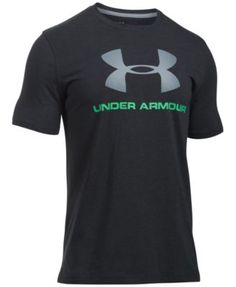 UNDER ARMOUR Under Armour Men'S Sportstyle Logo T-Shirt. #underarmour #cloth #shirts