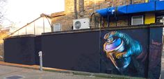 Serbian artist ABVH breathes new life into street art by animating it into fun little GIFs. Graffiti, stencils, and murals are all still forms of street art, but thanks to ABVH's skills they leap from photographs into motion. Banksy, Gif Animé, Animated Gif, Mundo Gif, Art Games For Kids, Fire Animation, Fire Painting, Les Gifs, Street Art Graffiti