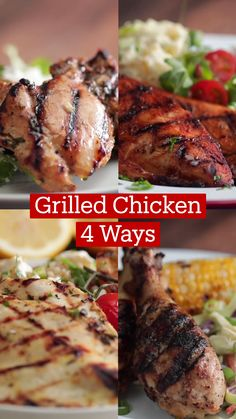 Cooking Recipes, Healthy Recipes, Meals, Dinners, Chicken Recipes, Good Food, Yummy Food, Snacks, Grilled Chicken