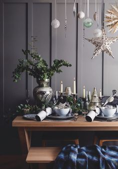 How to create a stunning festive table | Inspiration | Homes and Antiques