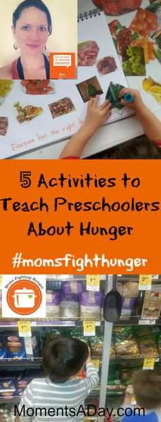 5 Activities to Teach Preschoolers About Hunger - Moments A Day