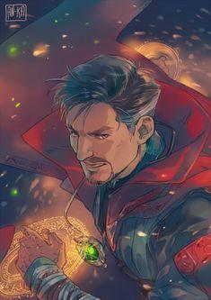 Doctor Strange Fanart by AN-KA