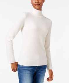 Charter Club Cashmere Turtleneck Sweater, Only at Macy's, 16 Colors Available | macys.com