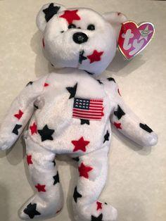 Valuable Beanie Babies, Original Beanie Babies, Ty Beanie, Dinosaur Stuffed Animal, Teddy Bear, The Originals, Stars, Baby, Animals