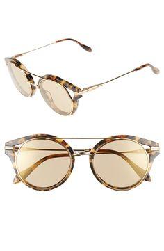 Main Image - Sonix Preston 51mm Gradient Round Sunglasses - Nordstrom