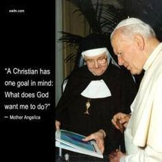 #MondayMotivation #MotherAngelica #EWTN #Easter2015