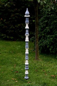 gartenstelen aus frostfester keramik - unsere stelen erweitern den, Terrassen ideen