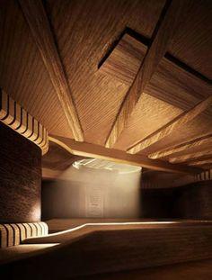 Krásnej interiér? Jo, interiér kytary. Takhle to vypadá vevnitř.