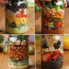 Make-Ahead Mason Jar Salads For The Week by Tasty