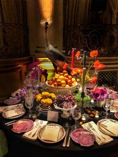 Patrick Mele 2018 NYBG Orchid Dinner