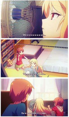 The Pet Girl of Sakurasou - Sakurasou no Pet na Kanojo - Love this anime! <3