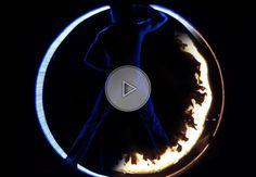 Fire and LED wheel cyr | Cyr Wheel | Wheels | Circus performers | Performers | Entertainment Agency | Corporate Entertainment